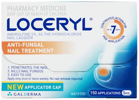 Loceryl Nail Lacquer 5mL, Anti-Fungal Nail Treatment