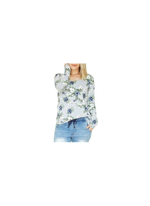 LONG SLEEVE TEE FLORAL SIZE 12