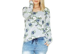 LONG SLEEVE TEE FLORAL SIZE 16