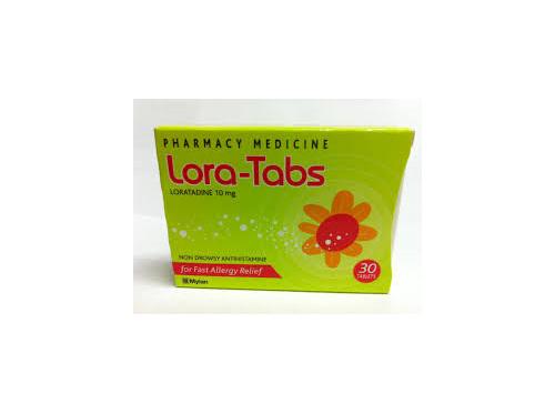 LORA -Tabs 10mg 30s