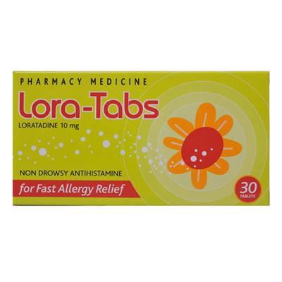 Lora Tabs 10mg T 30