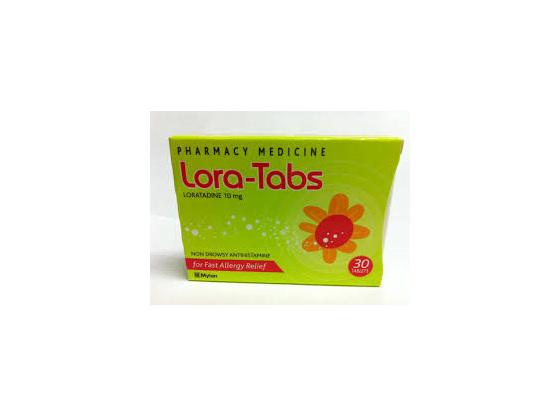 Lora-Tabs 10mg Tablets 30
