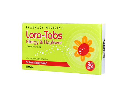 Lora-Tabs Allergy Relief 10mg 30 Tabs
