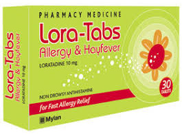 LORA-TABS ALL/H.FEVRTABS 10MG 30