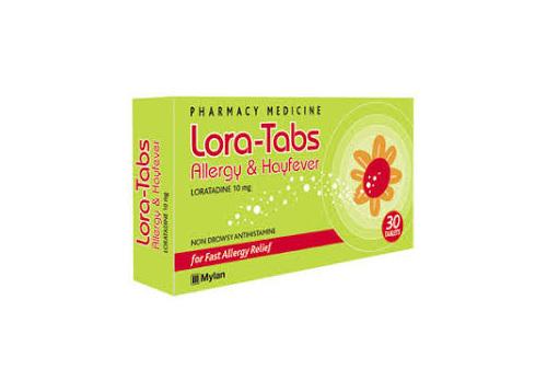LORA-TABS ALL/H.FEVRTABS 10MG 30