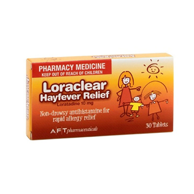 Loraclear Hayfever 10mg 30