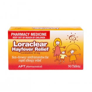 Loraclear Hayfever Relief 10Mg 90 tabs