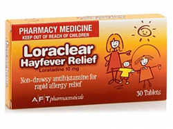 Loraclear Hayfever Tablets 10mg 30 Tabs