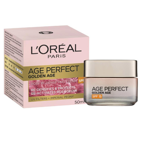 LOREAL Age Perfect Golden Age Rosy Re-Densifying Cream SPF15 50ml