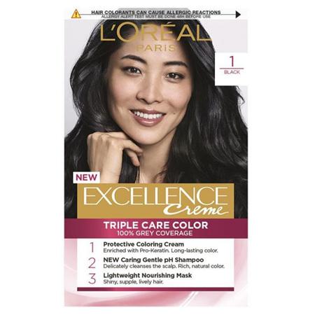 LOREAL EXCELLENCE Hair Colour 1 Black