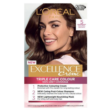 LOREAL EXCELLENCE Hair Colour 5 Brown