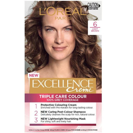 LOREAL EXCELLENCE Hair Colour 6 Light Brown