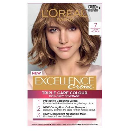 LOREAL EXCELLENCE Hair Colour 7 Dark Blonde