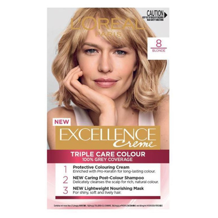 LOREAL EXCELLENCE Hair Colour 8 Blonde