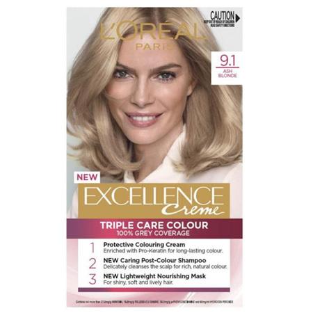 LOREAL EXCELLENCE Hair Colour 9.1 Ash Blonde