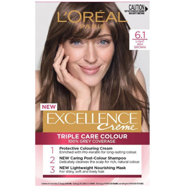 LOREAL EXCELLENCE H/C 6.1 Lt Ash Brown