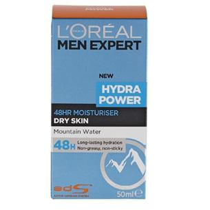 LOREAL Men Expert Hydra Power 48hr Moisturiser 50ml
