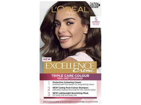 L'Oréal Paris Excellence Creme Hair Colour, 5 Brown