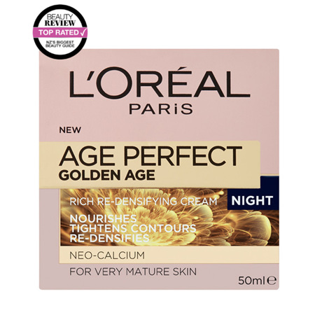 LOREAL Perfect Golden Age Rich Re-Densifying Night Cream 50ml