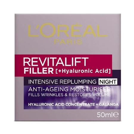 LOREAL Revitalift Filler Night 50ml