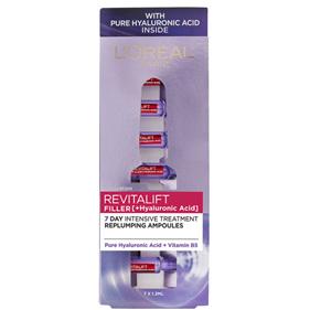 LOREAL Revitalift Filler Replumping Ampoules 7 x 1.3ml