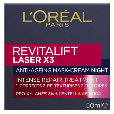 LOREAL Revitalift Laser X3 Night Cream 50m