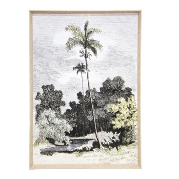 Lost World A Print W Natural Slope Frame - 80x120