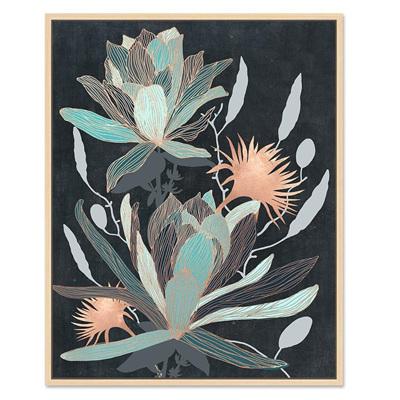 Lotus in Navy