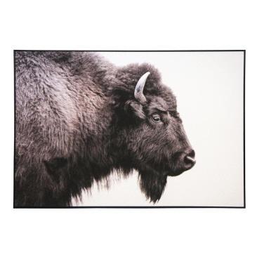 Louis Canvas Art - Black Frame 100x140cm