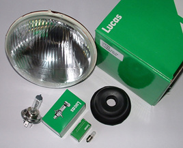 LUB383 Halogen Headlight Conversion - Genuine Lucas