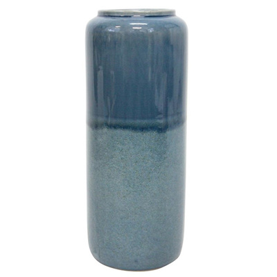 Lucy Ceramic Vase - Denim