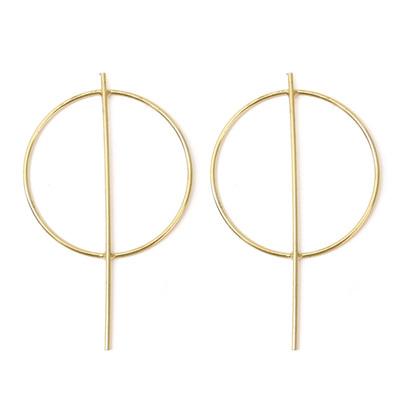 Lucy Earrings - Gold