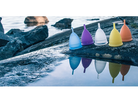 Lunette Menstrual Cup Model 1 (Light to Medium Flow)