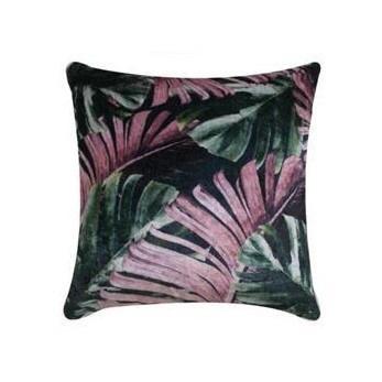 Lush Tropics Velvet Cushion 45x45cmh