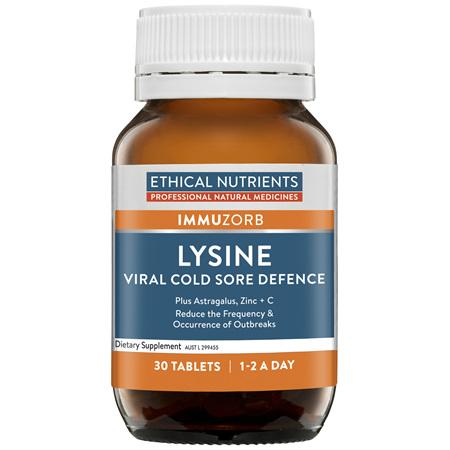 Lysine Cold Sore Defence 30 Tablets