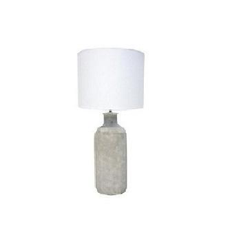 Mabelle Ceramic Concrete Look Table Lamp 84cm