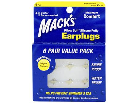 Macks Silicone Value Pack 6 pair