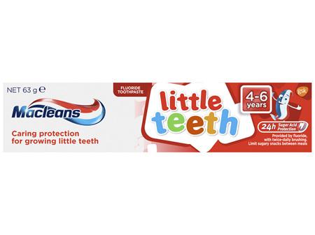 Macleans Little Teeth Kids Toothpaste 4-6 Years 63g