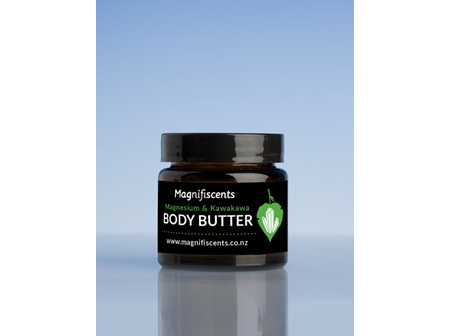 Magnificents Body Butter 65gm with Magnesium & Kawakawa