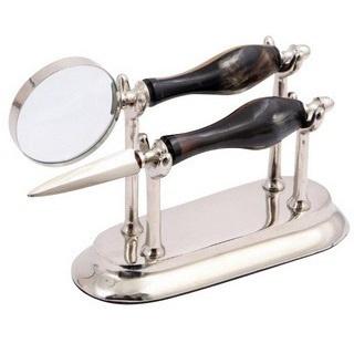 Magnifier & Letter Opener Set