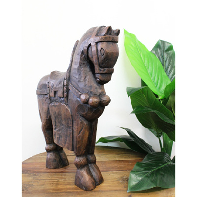 Majestic Horse Deco - Walnut