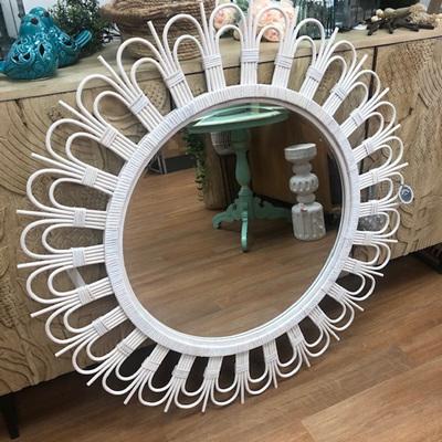 Mali Whitewash Mirror