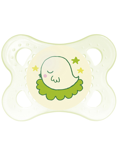 MAM Night Soother 0-4mths - 2Pk
