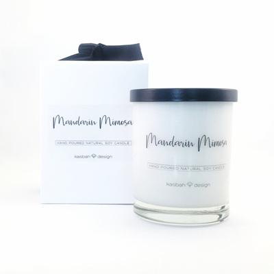 Mandarin Mimosa - Soy Candle - Large