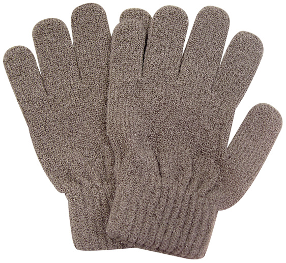 Manicare Exfoliating Gloves, Brown