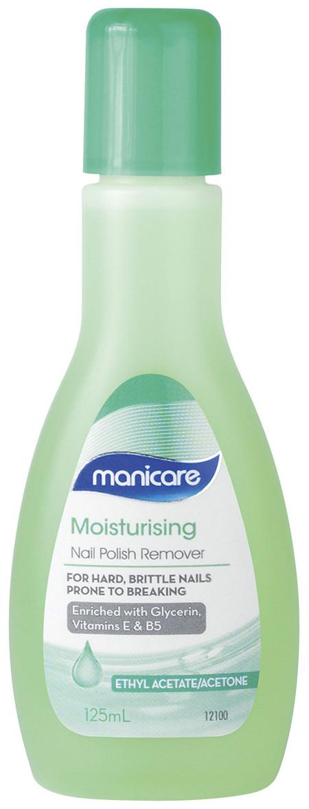 Manicare Nail Polish Remover with Tea Tree Oil 125mL