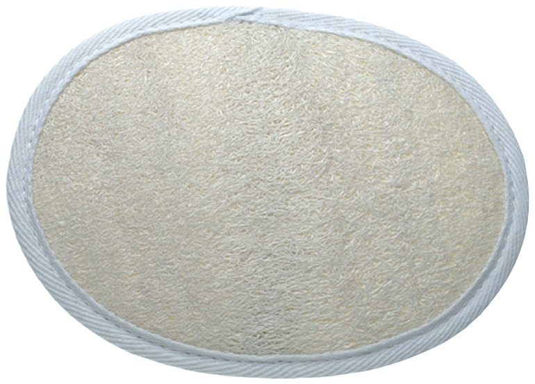 Manicare Natural Loofah Pad, White