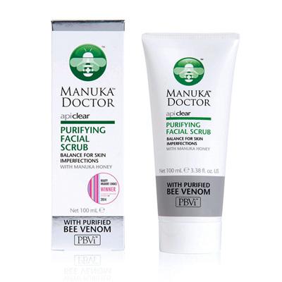 Manuka Doctor ApiClear Facial Scrub 100ml