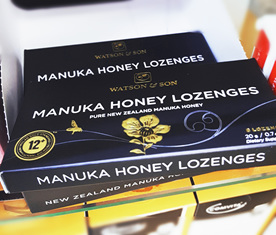 manuka honey lozenges