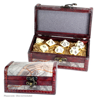 Map' Dice Chest for set of 7 Dice